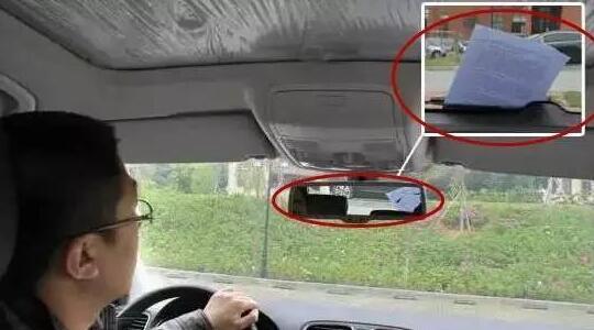 """老司机提醒:车上发现这些""""记号"""" 尽快驾车离开"""