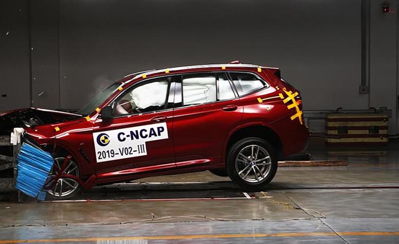 主动安全满分! 国产宝马X3获C-NCAP碰撞测试五星评价