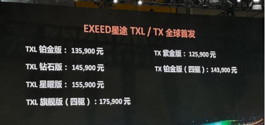 EXEED星途TX/TXL如何打造自主新高端越级体验?