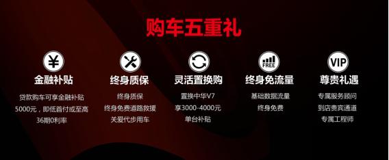 华晨中华V7-1.8T 即墨站焕芯上市