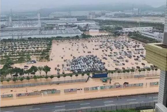 暴雨致广汽本田工厂新车被淹,涉及飞度缤智等,如何鉴别泡水车