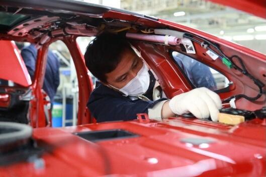 第十代索纳塔今日正式下线 新车将于7月下旬上市