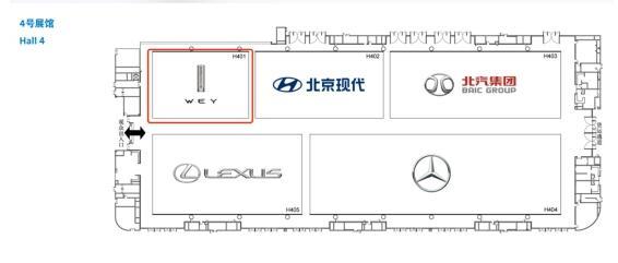 智能与专业兼具,WEY品牌智能豪华越野SUV坦克300将占领车展