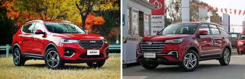哈弗H4对比长安CS55 PLUS,谁才是10万级紧凑型SUV王者
