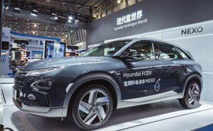 NEXO试驾巡游尽展过人实力现代汽车闪耀第五届国际氢能与燃料电池汽车大会