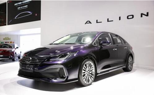 ALLION与凌尚组成新旗舰 丰田汽车背后的战略大布局