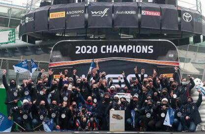 现代车队卫冕WRC2020年度厂商总冠军展示强大技术实力