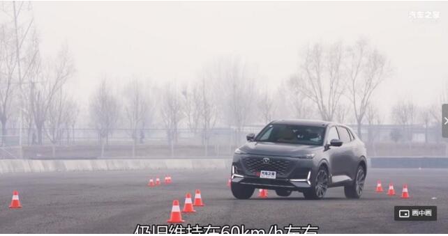 SUV车型的极限到底在哪里?看看这款车型的麋鹿测试