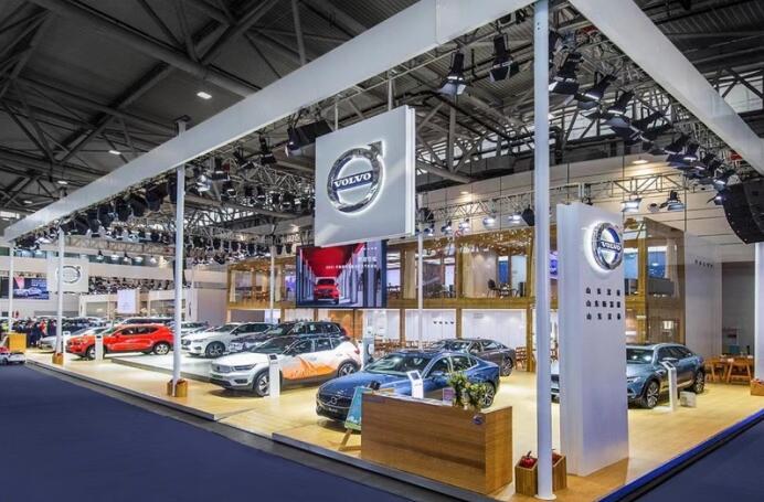 享沃豪华  闪耀齐鲁-沃尔沃全系车型亮相齐鲁国际车展