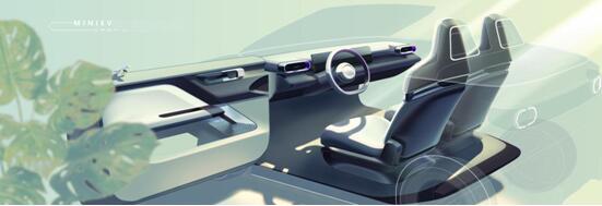 宏光MINIEV敞篷车官图曝光,将于上海车展全球首秀