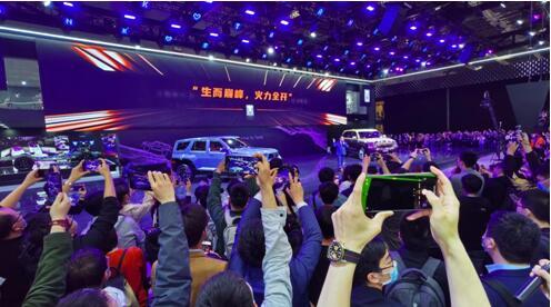 坦克品牌独立 新车集聚释放 长城汽车1-4月销量同比大涨