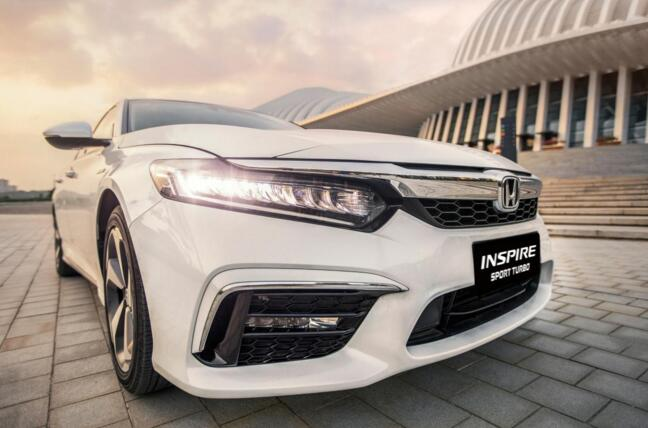 东风本田INSPIRE:探索B级车领域的集大成者